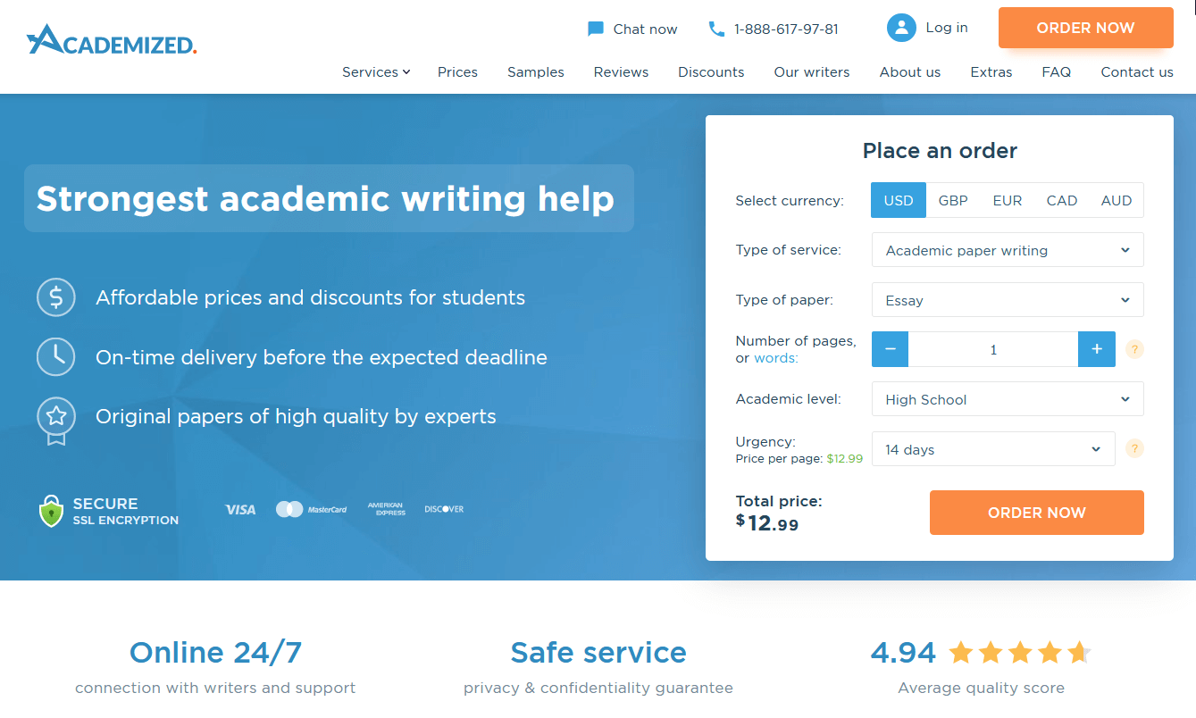 academized.com overview