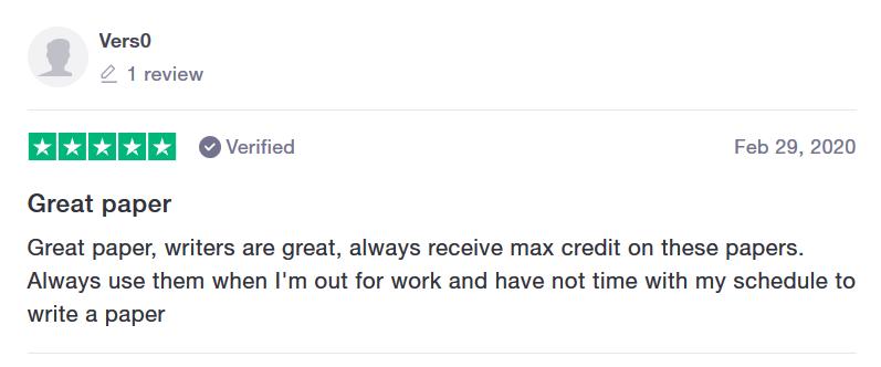 Buyessayclub.com Customer reviews