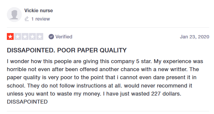 Speedypaper.com Customer reviews