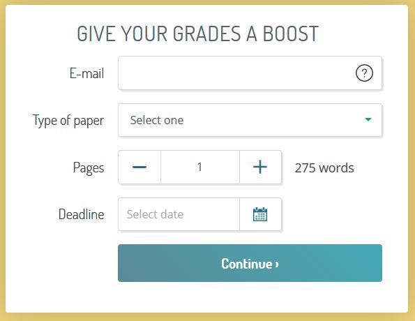 Essayshark.com Order form