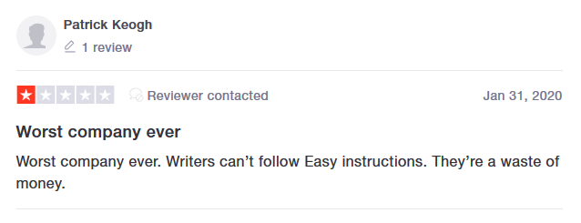 Edubirdie.com Customer reviews