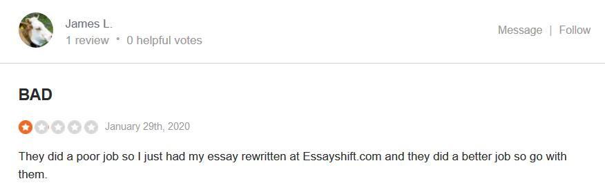 Bestessays.com Customer reviews