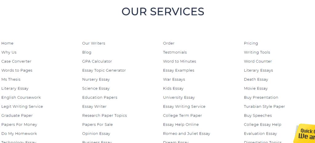 5staressays-services-list