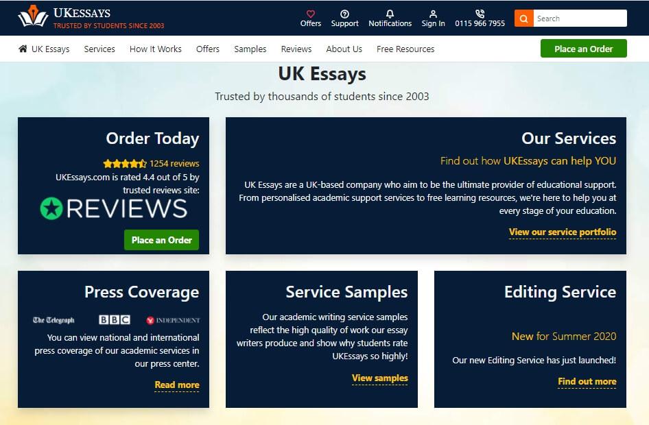 ukessays-website